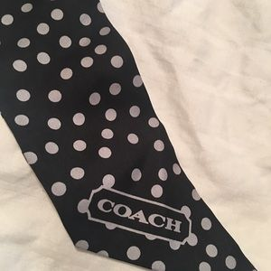 Coach Accessories - Coach scarf/sash!